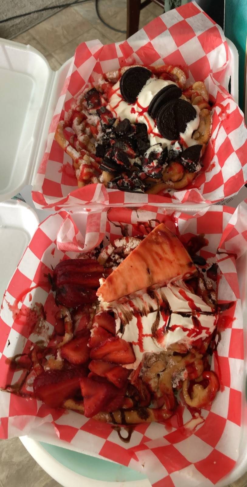 Nadines Funnel Cakes   restaurant   4331 The Plaza, Charlotte, NC 28205, USA   7042587248 OR +1 704-258-7248