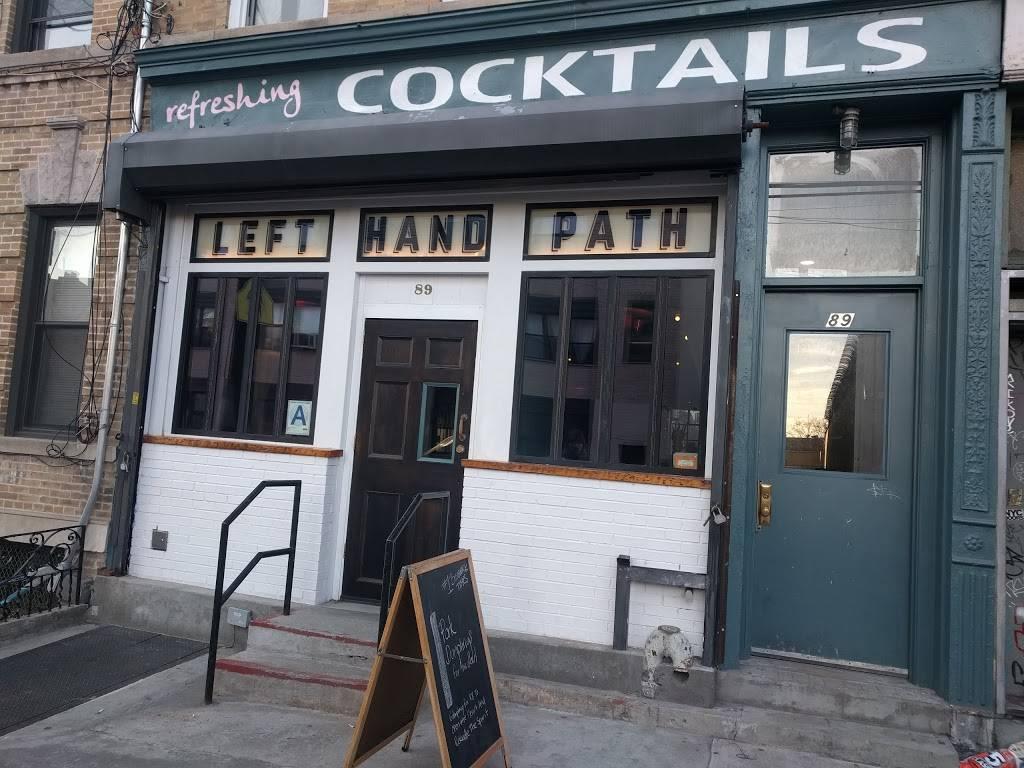 Left Hand Path | restaurant | 89 Wyckoff Ave, Brooklyn, NY 11237, USA