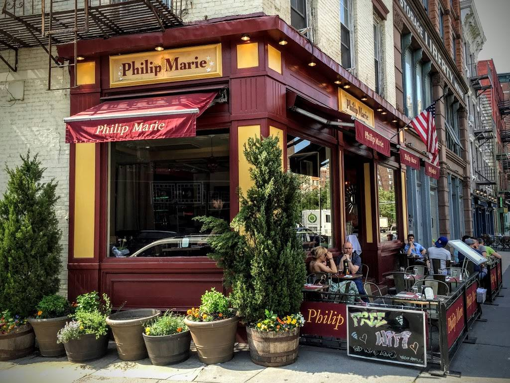 Philip Marie | restaurant | 569 Hudson St, New York, NY 10014, USA | 2122426200 OR +1 212-242-6200