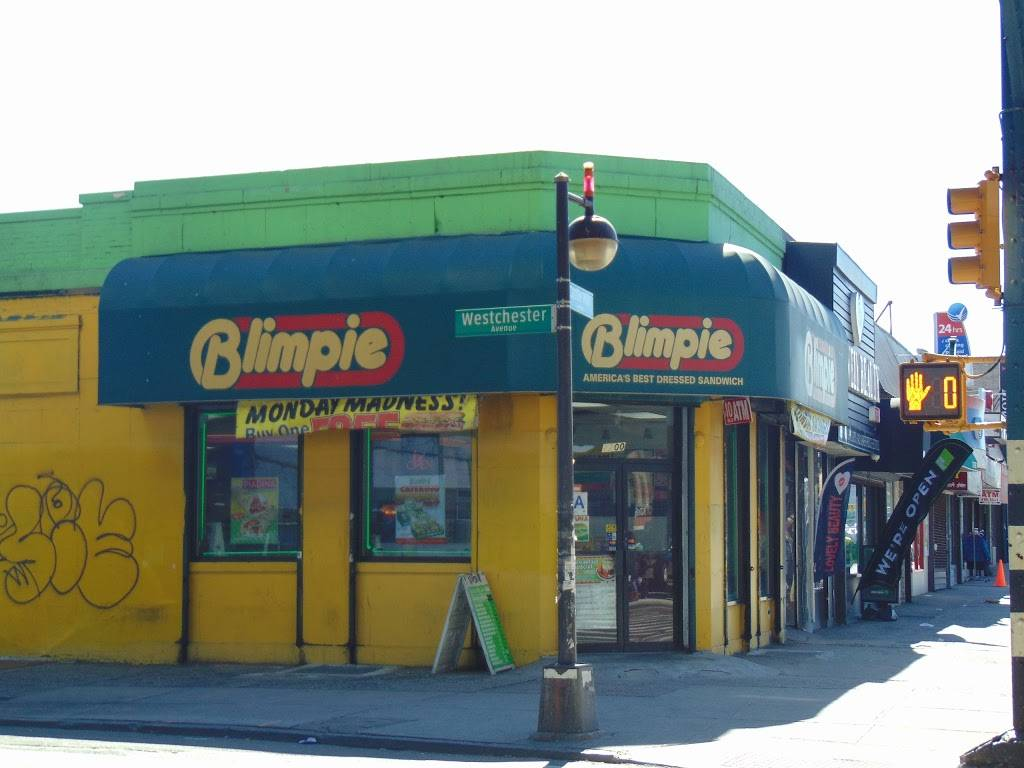 Blimpie | meal delivery | 2200 Westchester Ave, Bronx, NY 10462, USA | 7188285440 OR +1 718-828-5440