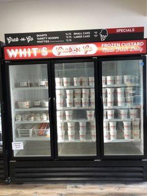 Whits Frozen Custard | restaurant | 112 S Main St, Bellefontaine, OH 43311, USA | 9375980086 OR +1 937-598-0086