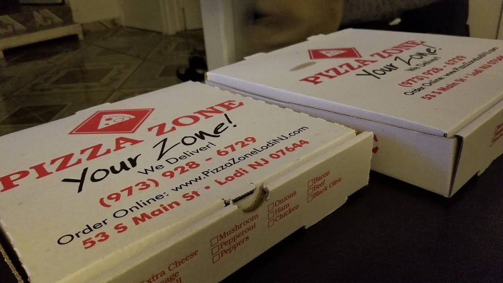 Pizza Zone | meal delivery | 53 S Main St, Lodi, NJ 07644, USA | 9739286729 OR +1 973-928-6729