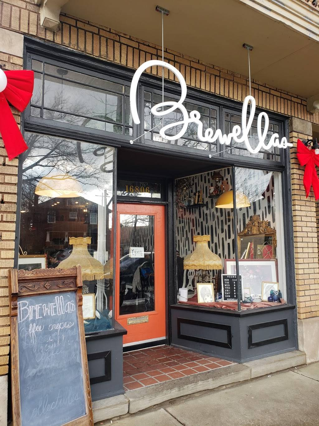 Brewellas Coffee, Crêpes & Collectibles | cafe | 16806 Madison Ave, Lakewood, OH 44107, USA | 2167124907 OR +1 216-712-4907