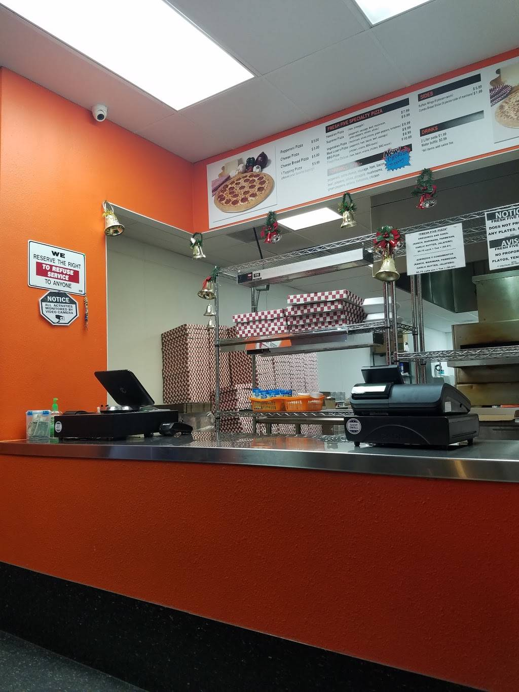 Fresh Five Pizza | meal takeaway | 565 S Knott Ave, Anaheim, CA 92804, USA | 7148332239 OR +1 714-833-2239