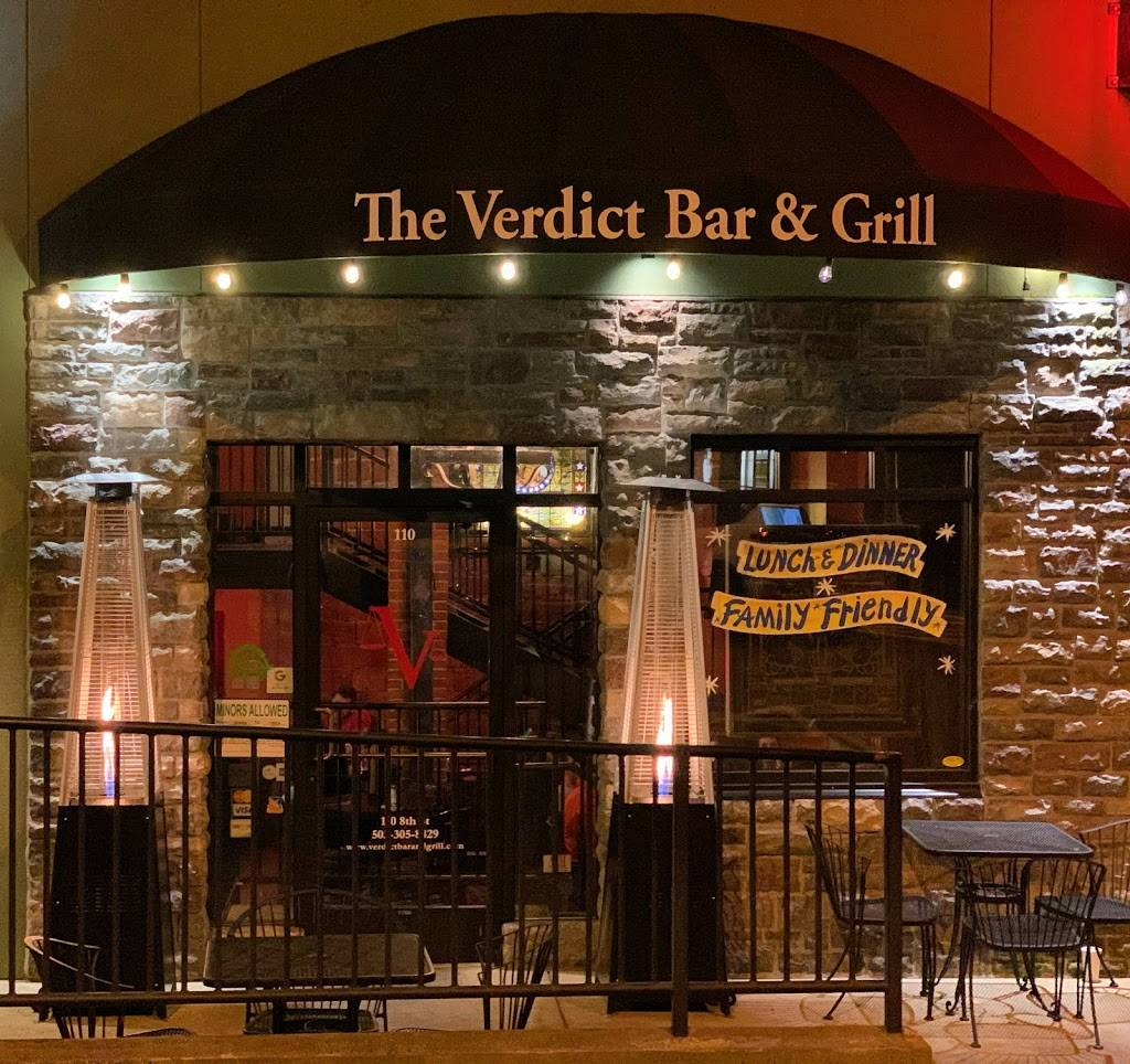 Verdict Bar and Grill | restaurant | 110 8th St, Oregon City, OR 97045, USA