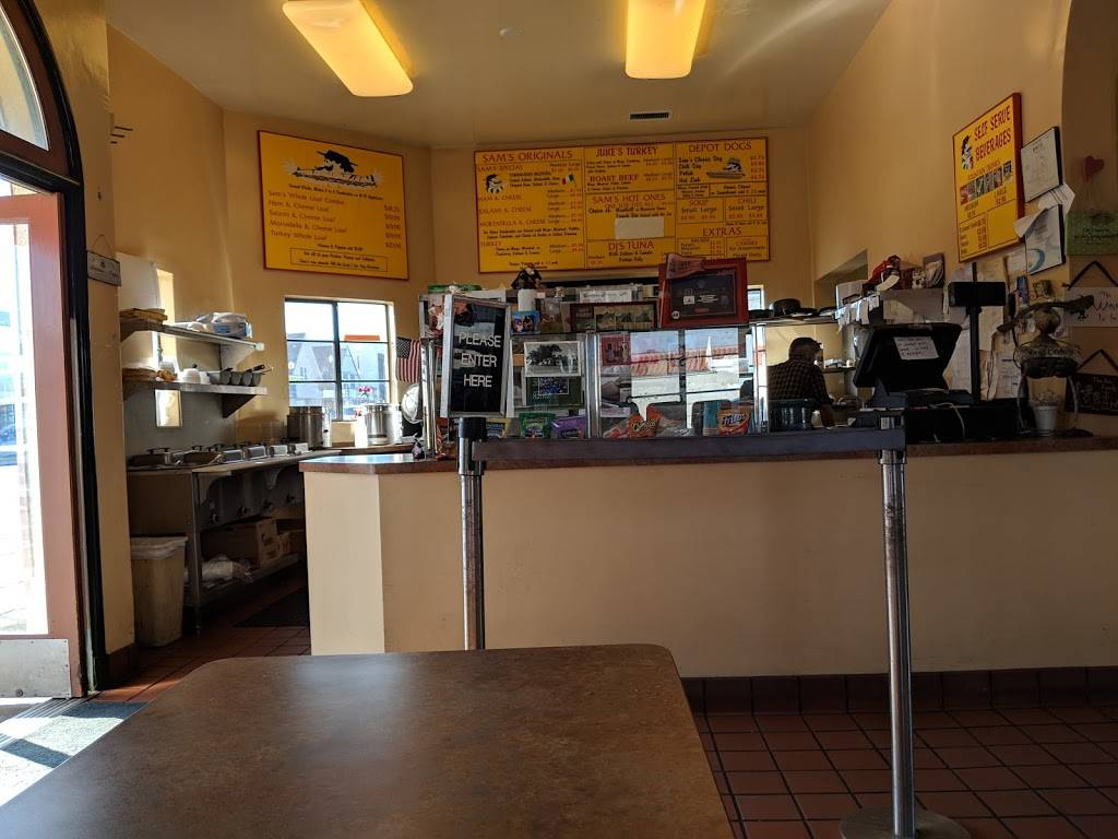 Sams Italian Sandwich Co | meal takeaway | 1080 Howard Ave, Burlingame, CA 94010, USA | 6503427267 OR +1 650-342-7267
