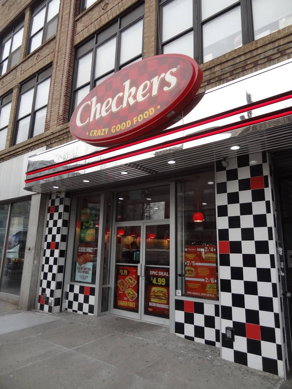 Checkers | restaurant | 79 W 125th St, New York, NY 10027, USA | 2128371500 OR +1 212-837-1500