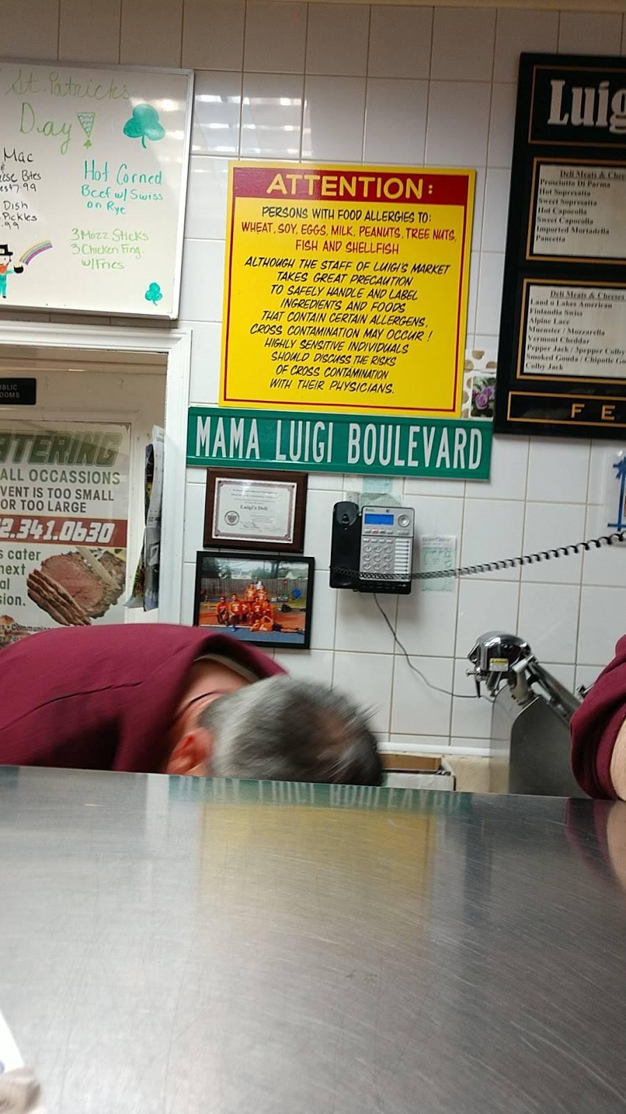 Luigi Deli Meat Market | restaurant | 424 Dover Rd, Toms River, NJ 08757, USA | 7323410630 OR +1 732-341-0630