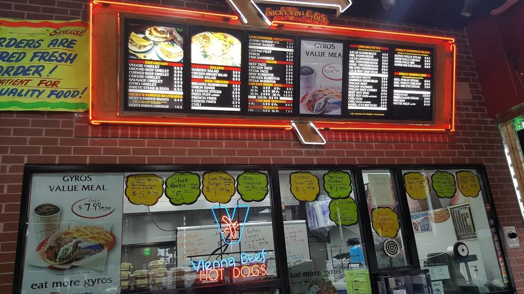 Nickys Gyros | restaurant | 4240 S Wentworth Ave, Chicago, IL 60609, USA | 7735488500 OR +1 773-548-8500