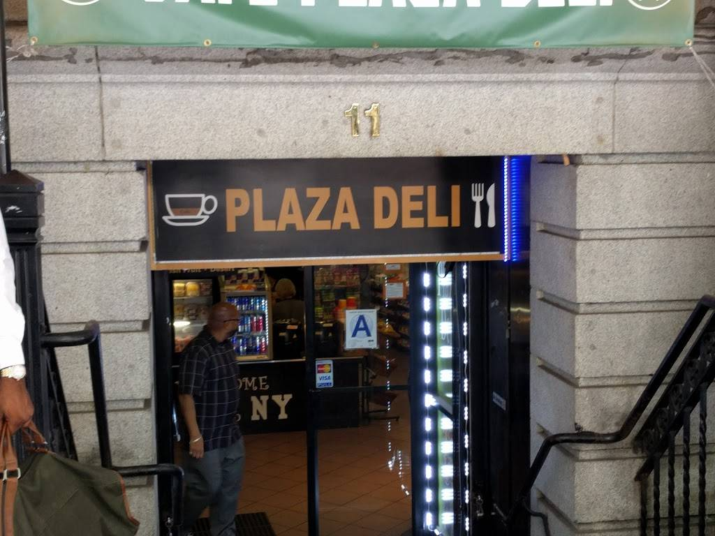 cafe plaza deli   restaurant   11 Broadway, New York, NY 10004, USA   2128094101 OR +1 212-809-4101