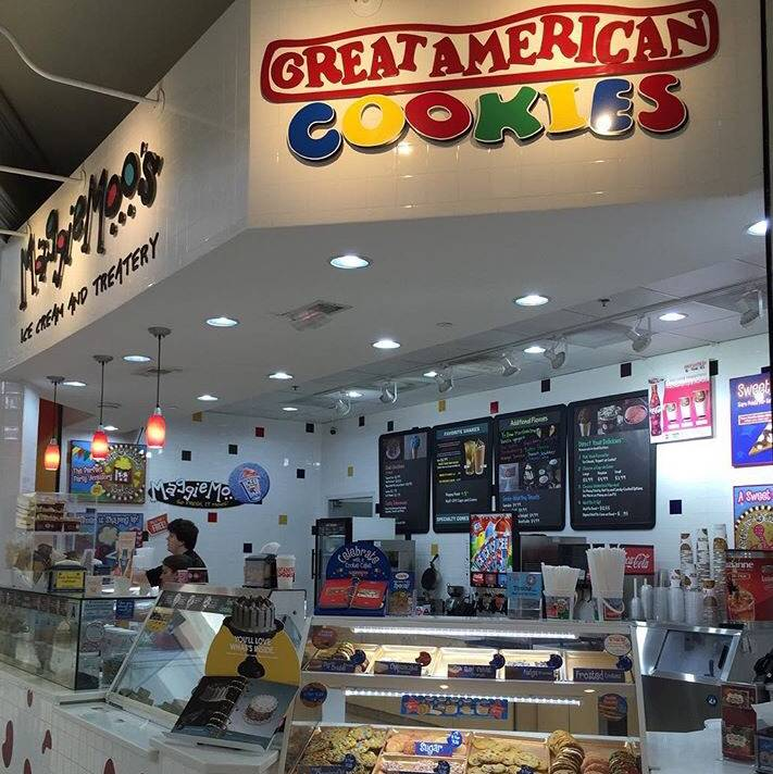 Great American Cookies & Maggie Moos Ice Cream And Treatery | shopping mall | 100 Columbiana Cir #1468, Columbia, SC 29212, USA | 8037813477 OR +1 803-781-3477