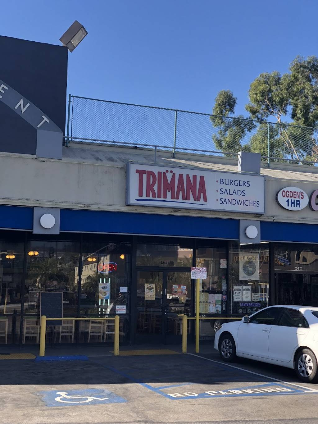 Trimana Grill | meal takeaway | 6246 Wilshire Blvd, Los Angeles, CA 90048, USA | 3239334080 OR +1 323-933-4080