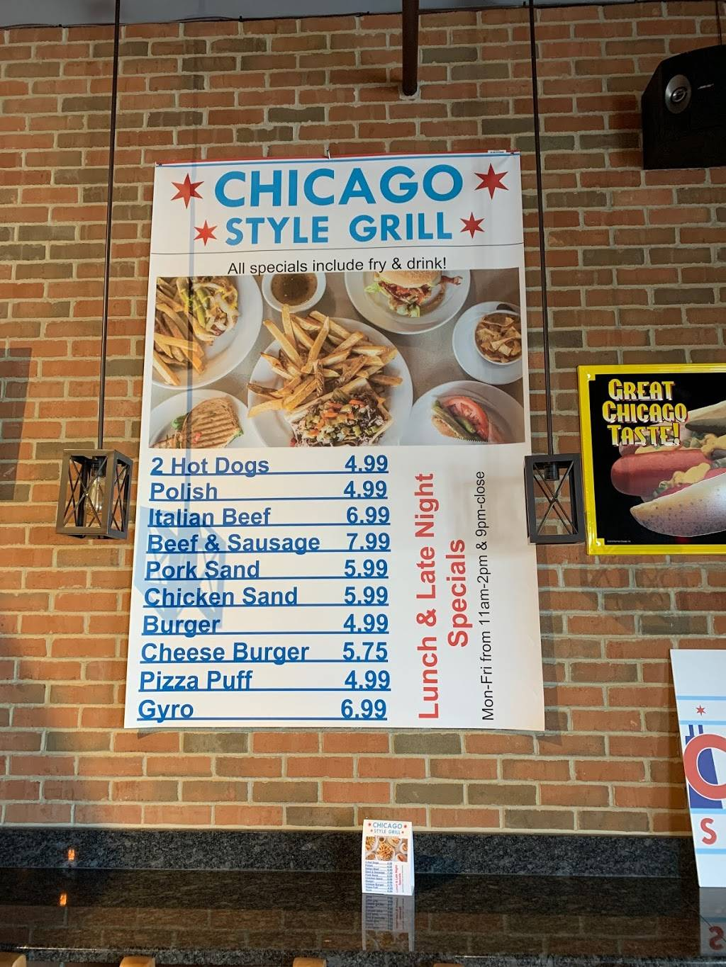 Chicago Style Grill   restaurant   20631 W Renwick Rd, Crest Hill, IL 60403, USA   8156305709 OR +1 815-630-5709