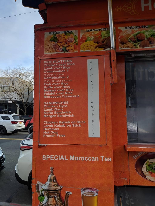 Houssine Halal Food Cart | restaurant | 22-14 31st St, Astoria, NY 11105, USA