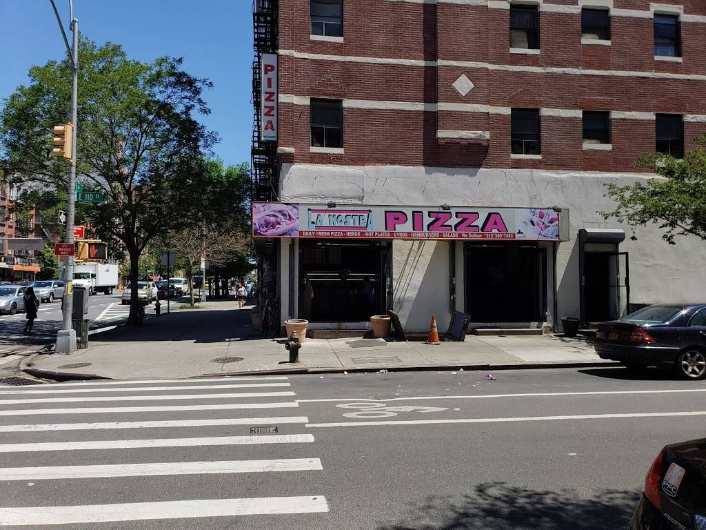 La Nostra Pizzeria | meal takeaway | 3207, 2146 2nd Ave, New York, NY 10029, USA | 2123607453 OR +1 212-360-7453