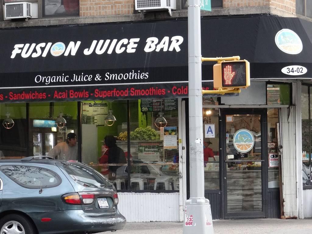 Fusion Juice Bar | restaurant | 34-2 36th Ave, Astoria, NY 11106, USA | 3477384024 OR +1 347-738-4024