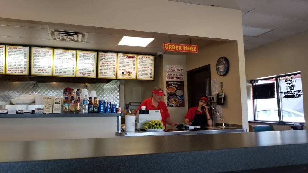 Andys Grill & Frozen Custard   restaurant   16973 Vincennes Ave, South Holland, IL 60473, USA   7085969108 OR +1 708-596-9108
