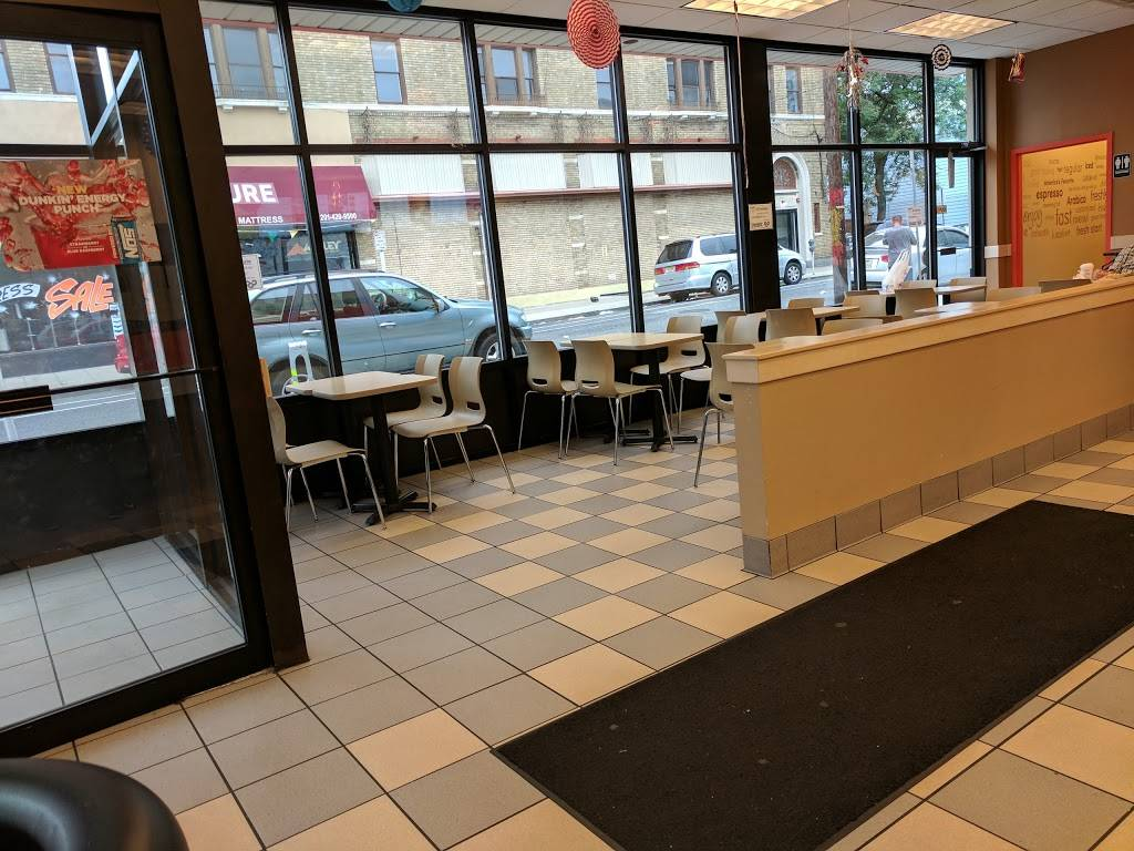 Dunkin Donuts | cafe | 318 Central Ave, Jersey City, NJ 07307, USA | 2017929595 OR +1 201-792-9595