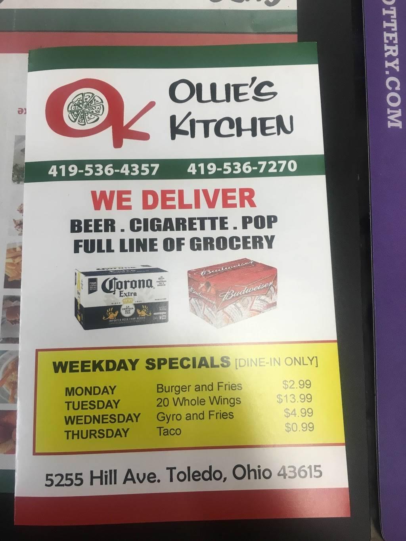 Ollie S Kitchen Restaurant 5255 Hill Ave Toledo Oh 43615 Usa