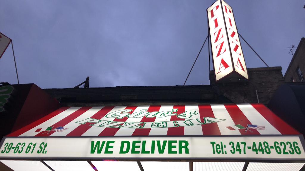 Gino's Pizzeria   restaurant   39-63 61st St, Woodside, NY 11377, USA   3474486236 OR +1 347-448-6236