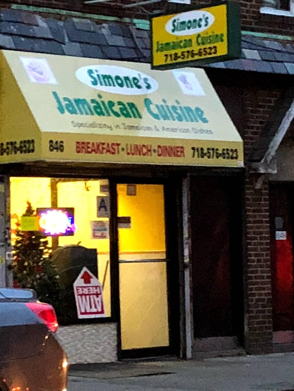 Simones   restaurant   846 Clarkson Ave, Brooklyn, NY 11203, USA   7185766523 OR +1 718-576-6523