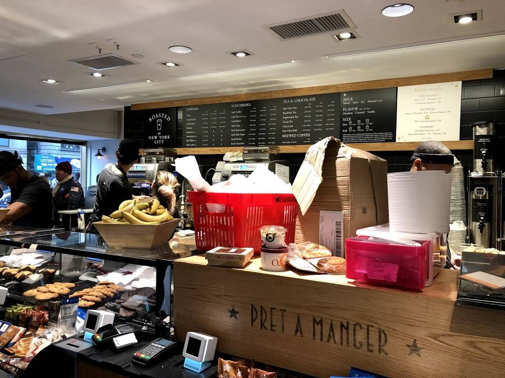 Pret A Manger | restaurant | 100 Central Park S, New York, NY 10019, USA | 6467915860 OR +1 646-791-5860