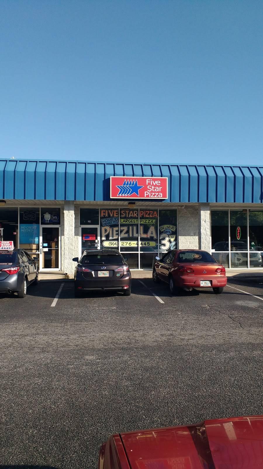 Five Star Pizza   restaurant   1045 Blanding Blvd, Orange Park, FL 32065, USA   9042764445 OR +1 904-276-4445
