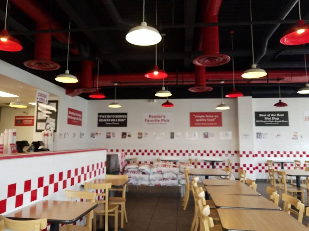 Five Guys | meal takeaway | 4109 Merchant Plaza, Woodbridge, VA 22192, USA | 7036709770 OR +1 703-670-9770