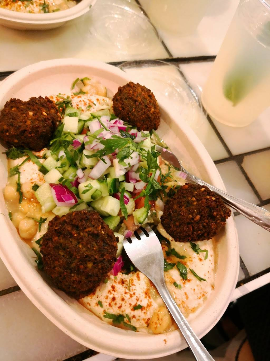 Queen of Falafel | restaurant | 2 Wyckoff Ave, Brooklyn, NY 11237, USA | 7185048628 OR +1 718-504-8628