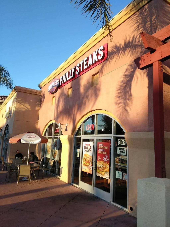 Charleys Philly Steaks   restaurant   265 S Euclid St SPC 165, Anaheim, CA 92802, USA   7148177909 OR +1 714-817-7909