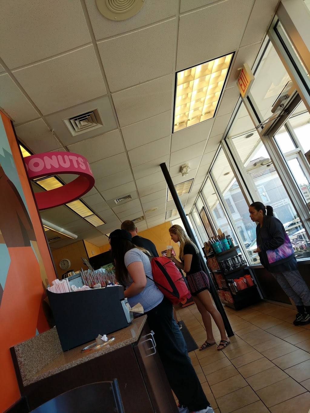 Dunkin | bakery | 1015 Main St, Willimantic, CT 06226, USA | 8604232328 OR +1 860-423-2328