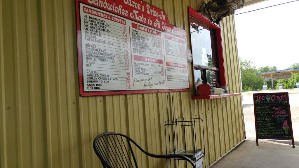 Saxons Drive In | restaurant | 601 W Madison St, Houston, MS 38851, USA | 6624562419 OR +1 662-456-2419