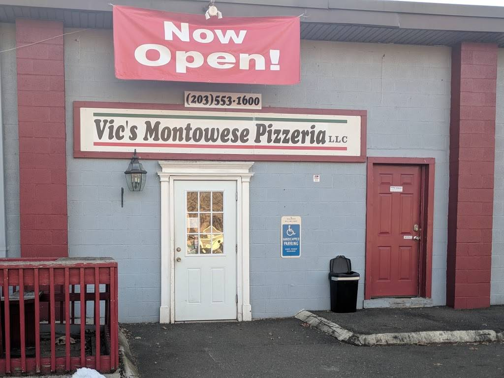 Vic's Montowese Pizzeria | restaurant | 244 Quinnipiac Ave, North Haven, CT 06473, USA | 2035531600 OR +1 203-553-1600