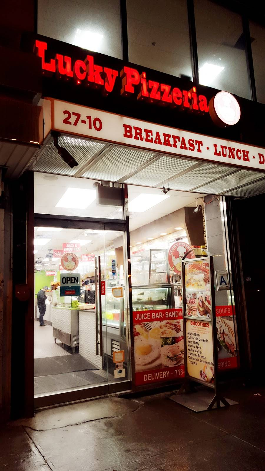 Lucky Pizza | cafe | 27-10 Queens Plaza S, Long Island City, NY 11101, USA | 7187849897 OR +1 718-784-9897