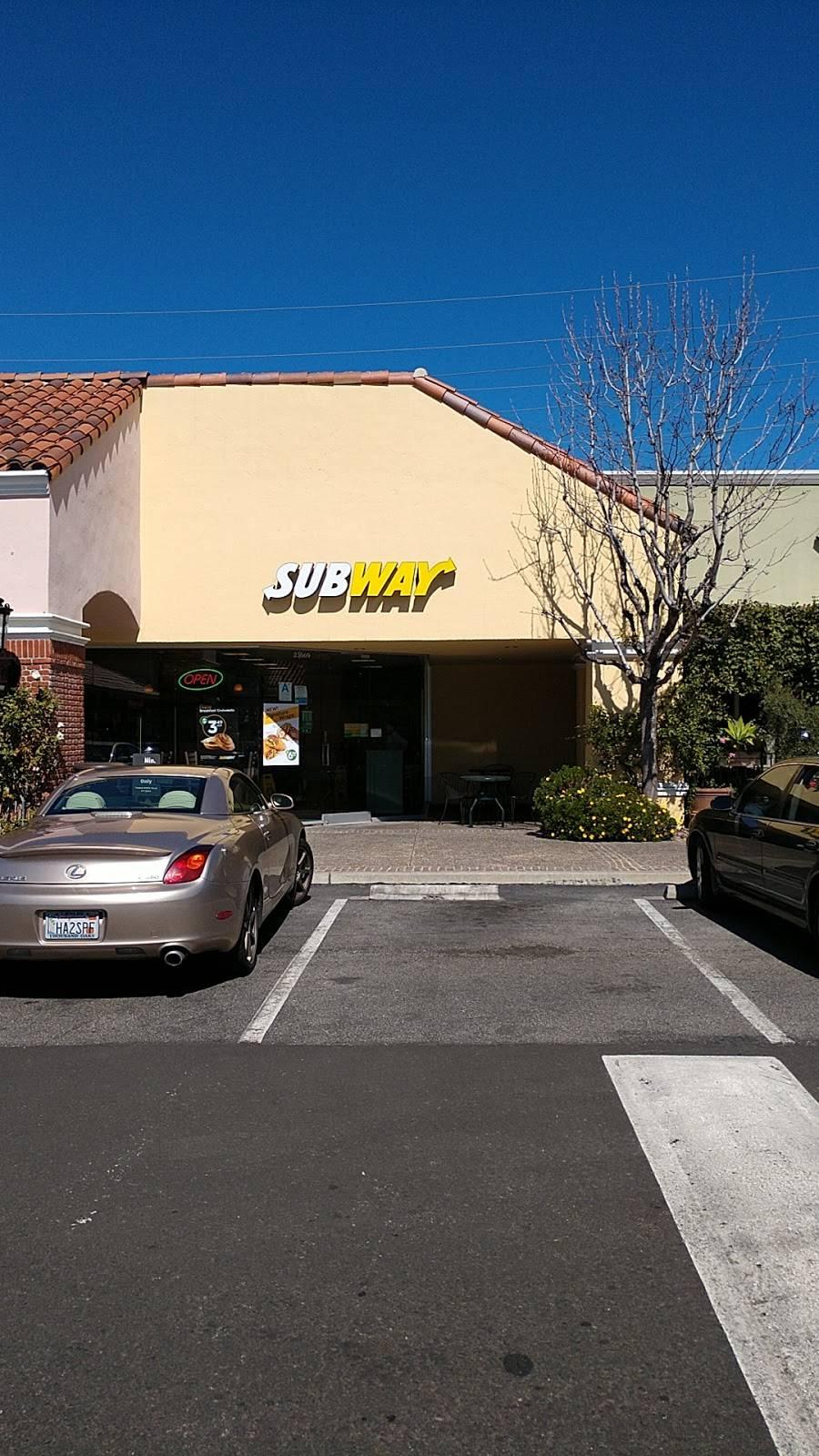 Subway Restaurants 23669 Calabasas Rd Calabasas Ca 91302