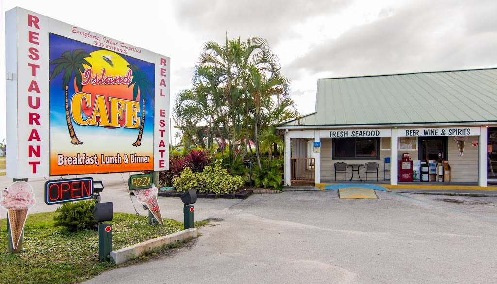 Island Cafe | cafe | 305 Collier Ave, Everglades City, FL 34139, USA | 2396950003 OR +1 239-695-0003