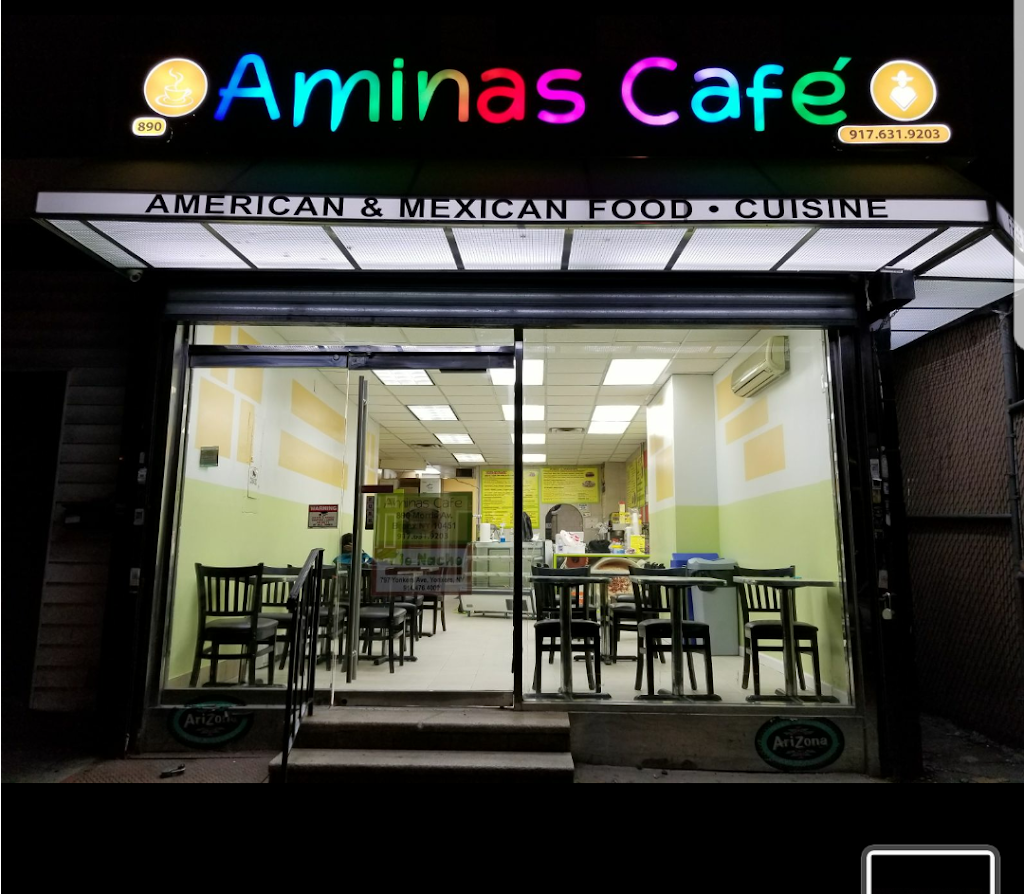 Aminas Cafe | restaurant | 3412, 890 Morris Ave, Bronx, NY 10451, USA | 9176319203 OR +1 917-631-9203