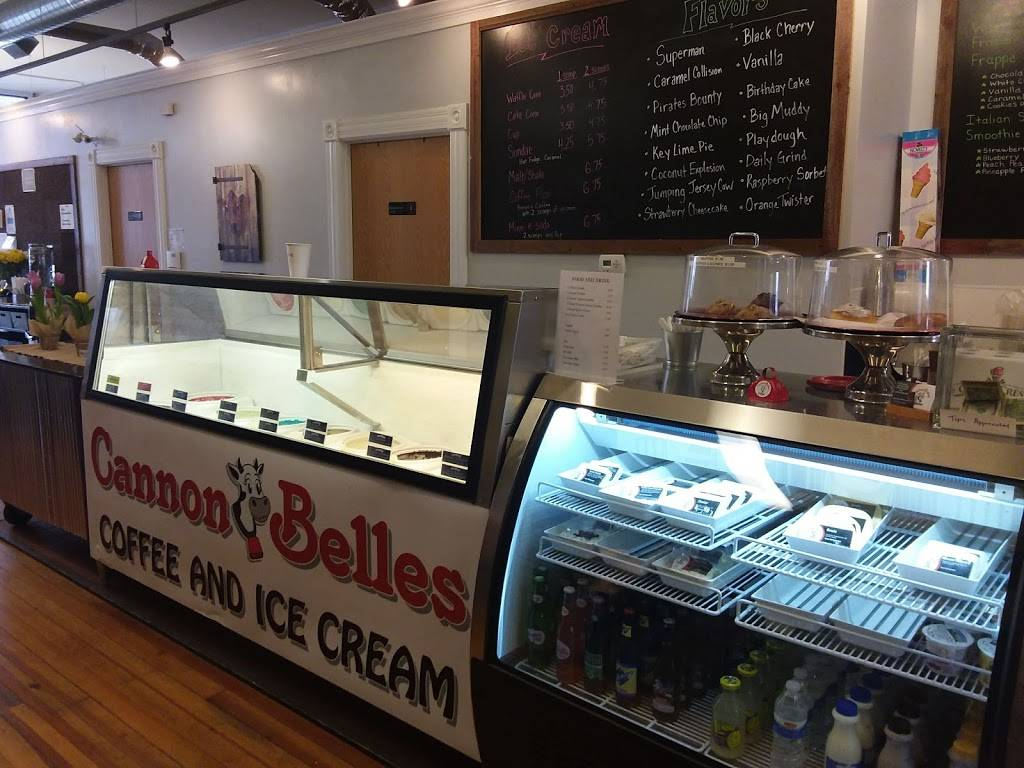 CannonBelles Coffee & Ice Cream | cafe | 402 Mill St W, Cannon Falls, MN 55009, USA | 5077571155 OR +1 507-757-1155