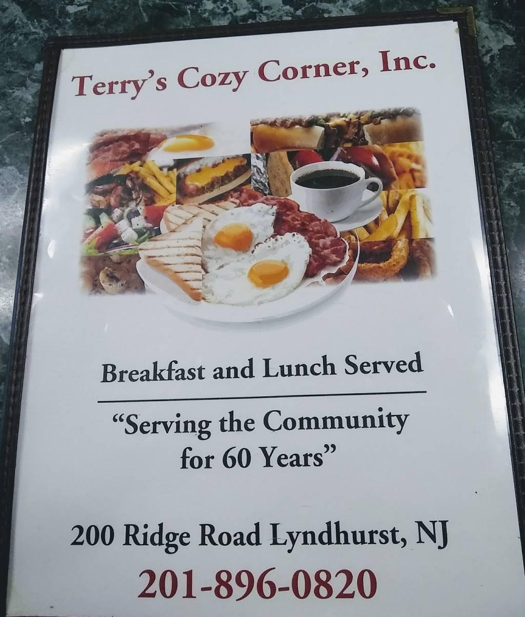 new terry's cozy corner - restaurant   200 ridge rd a