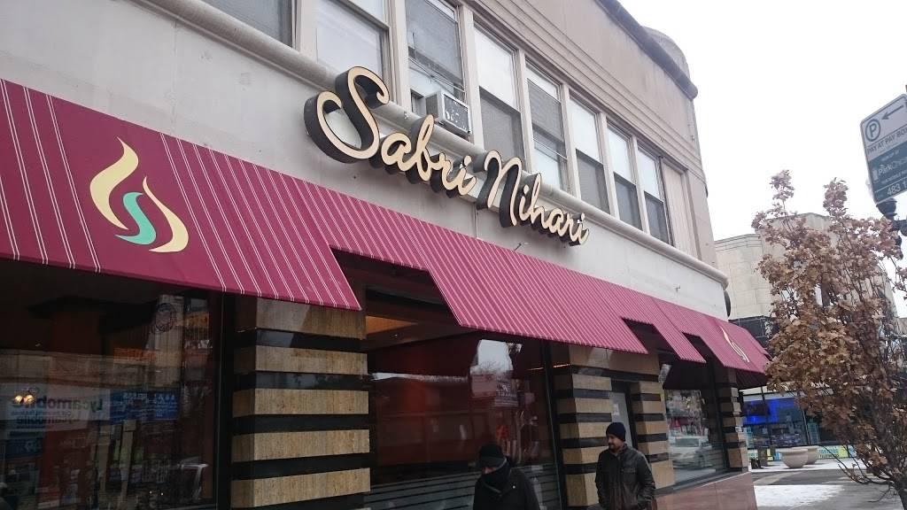 Sabri Nihari Restaurant   1970, 2502 W Devon Ave, Chicago, IL 60659, USA