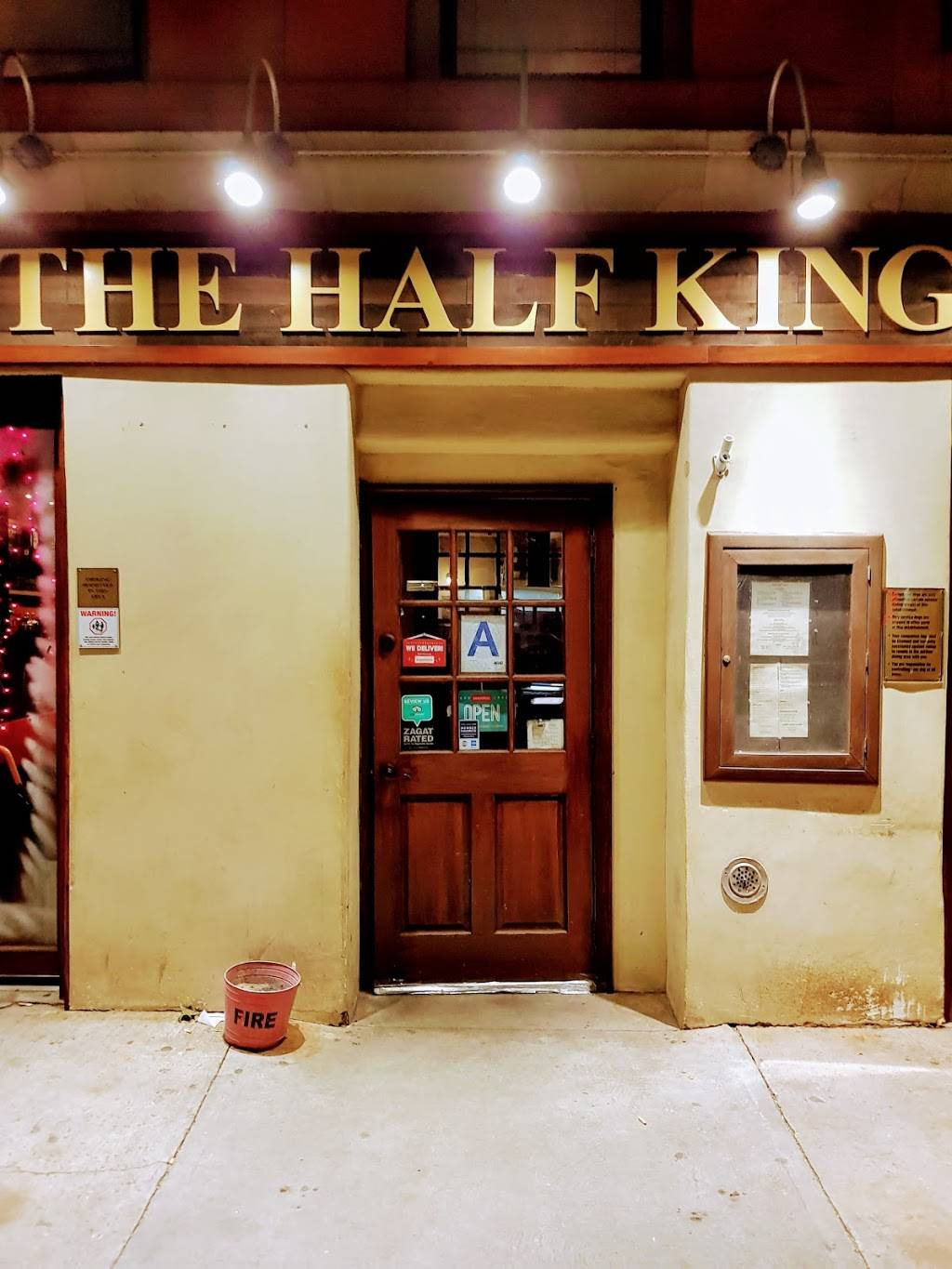 The Half King | restaurant | 505 W 23rd St A, New York, NY 10011, USA | 2124624300 OR +1 212-462-4300