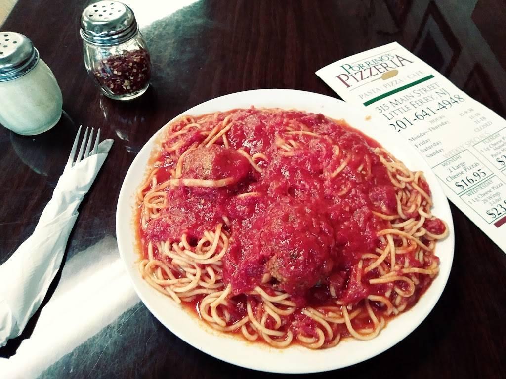 Porrinos Pizzeria | restaurant | 315 Main St, Little Ferry, NJ 07643, USA | 2016414948 OR +1 201-641-4948