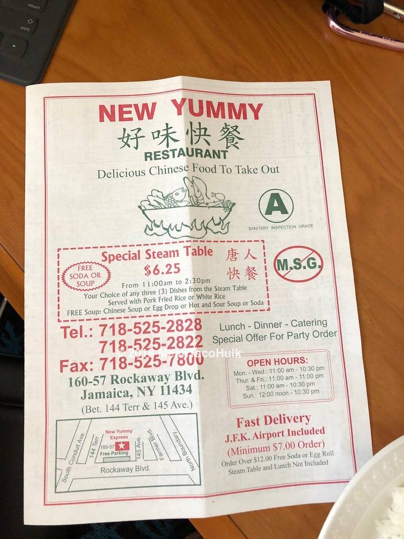 New Yummy Restaurant‎ | restaurant | 133 48th St, Union City, NJ 07087, USA | 2018668788 OR +1 201-866-8788
