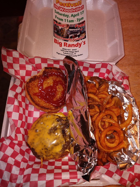 Big Randy's   restaurant   1875 Oak Ridge Rd E, Tallahassee, FL 32305, USA   8504210447 OR +1 850-421-0447