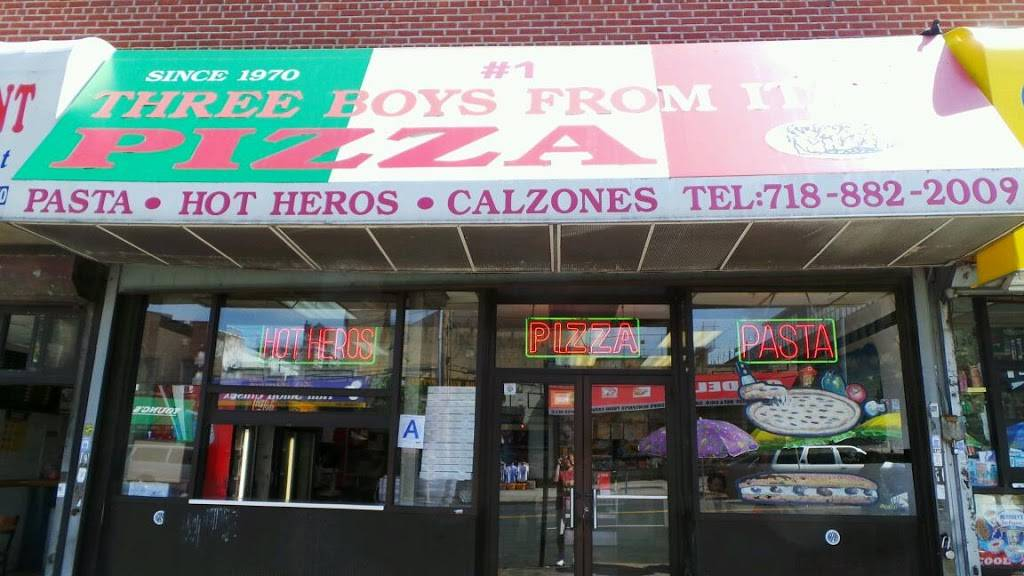 Three Boys From Italy   restaurant   704 Burke Ave, Bronx, NY 10467, USA   7188822009 OR +1 718-882-2009