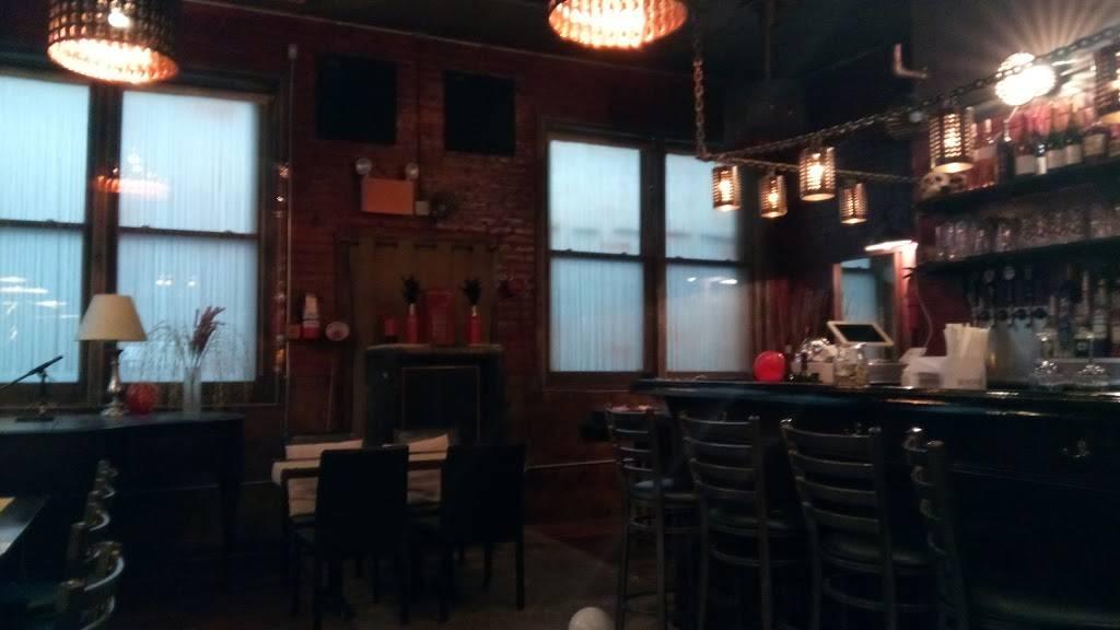 Hell Phone   restaurant   (go through cafe), 247 Varet St, Brooklyn, NY 11206, USA   7183661520 OR +1 718-366-1520