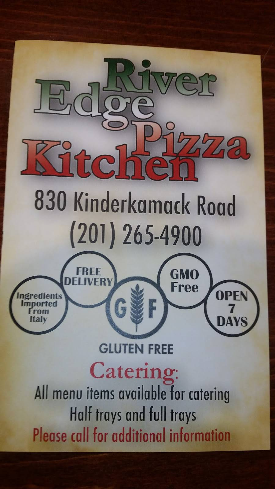 River Edge Pizza Kitchen   restaurant   830 Kinderkamack Rd, River Edge, NJ 07661, USA   2012654900 OR +1 201-265-4900