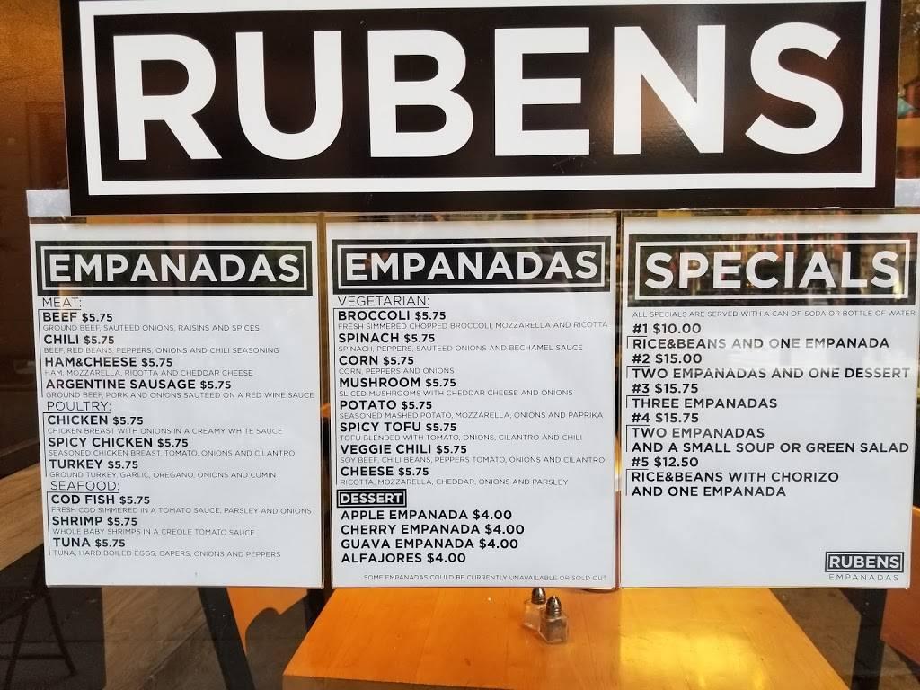 Rubens Empanadas | restaurant | 75 Pearl St, New York, NY 10004, USA | 2123616323 OR +1 212-361-6323