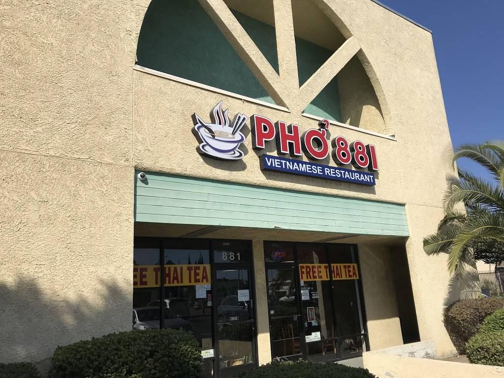 Phở 881   restaurant   3550, 881 E Anaheim St, Long Beach, CA 90813, USA   5625995305 OR +1 562-599-5305