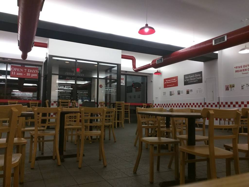 Five Guys   meal takeaway   534 Post Rd E, Westport, CT 06880, USA   2035574250 OR +1 203-557-4250